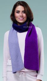 ROWAN Alpaca Soft DK Sjaal Indigo
