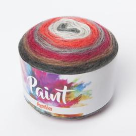 Katia Paint 56 - Grijs-Rood-Bruin