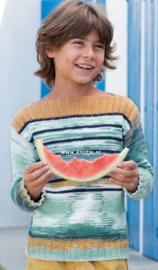 Katia Menfis Color en Cotton 100 Kindertrui