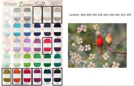 Cal 2015 Cardinal pakket (15 bollen Linen-Soft)