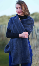 ROWAN Felted Tweed Aran Omslagdoek Bay