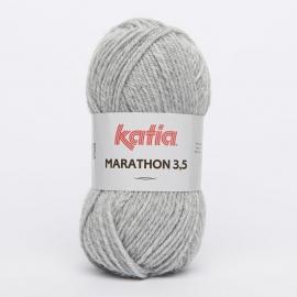 Katia Marathon 3.5 - 10 Licht Grijs