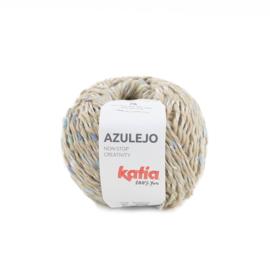 Katia Azulejo 301 - Beige - Blauw - Geelgroen