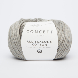 Katia Concept - All Seasons Cotton - 05 Licht grijs