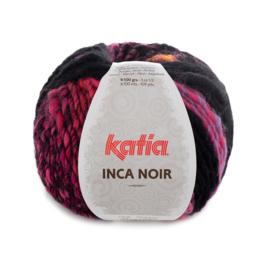 Katia Inca Noir - 358 Fuchsia-Oranje-Zwart