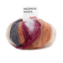 Katia Ingenua Moda - 107 Rood - Grijs - Roestbruin