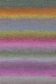 LANG Yarns Mille Colori Baby - 0052 Roze-Geel-Blauw