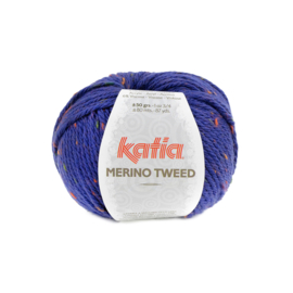 Katia Merino Tweed - 414 Marine Blauw