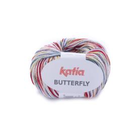 Katia Butterfly - 84 Groen - Rood - Geel - Blauw