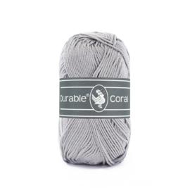 Durable Coral Katoen - 2232 Light grey