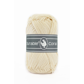 Durable Coral Katoen - 2172 Cream