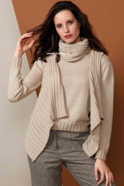 Katia Concept - Silky Lace Col, Hes en Trui