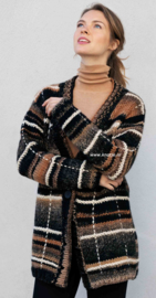 Katia Inca Noir en Big Merino Vest