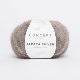 Katia Concept - Alpaca Silver - 257 Bruin - Zilver
