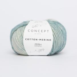 Katia Concept - Cotton-Merino PLUS 301 Groenblauw