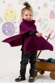 Dinsdag 25-10-2016 LANG Yarns Malou Light Kinder Poncho