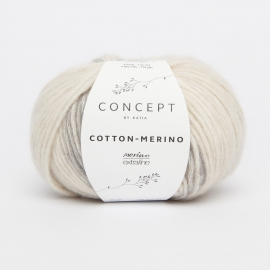 Katia Concept - Cotton-Merino PLUS 200 Beige Grijs