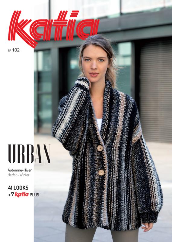 Katia Dames Urban No. 102 Herfst / Winter 2019-2020