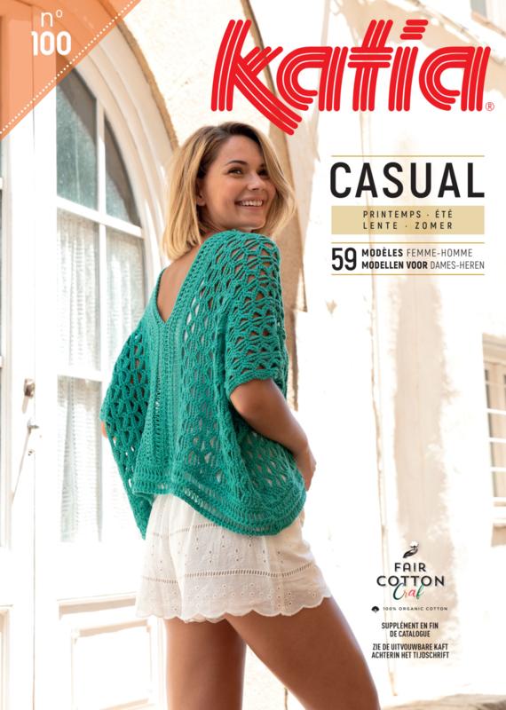 Katia Casual No. 100 Lente/Zomer 2019