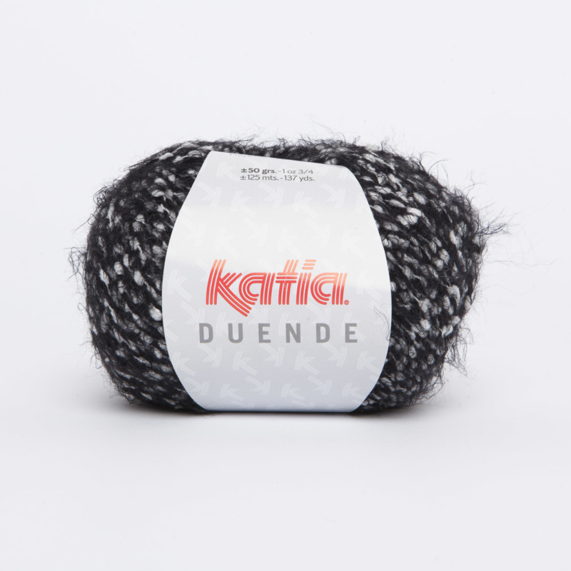 Katia Duende - 313 Ecru-Zwart
