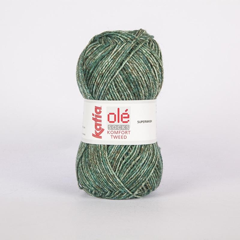 Katia Komfort Tweed - 61 Groen