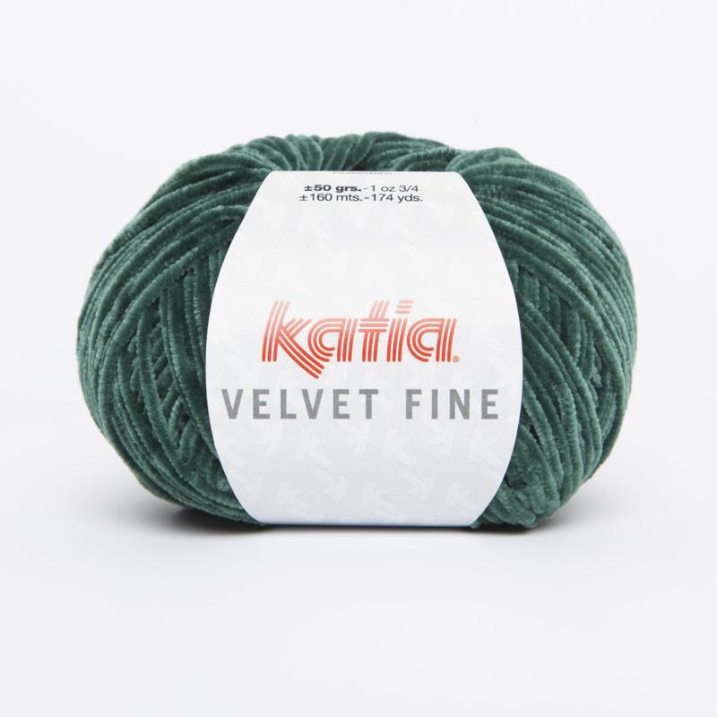 Katia Velvet Fine - 214 Flessengroen