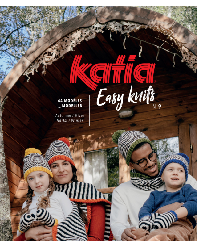 Katia Easy Knits No. 9 Herfst/Winter 2020-2021
