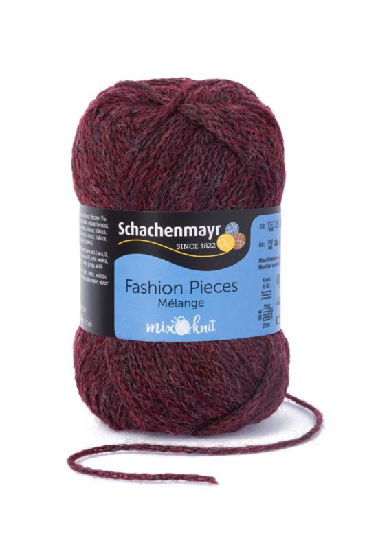 Schachenmayr Fashion Pieces - 00139 Burgund Melange