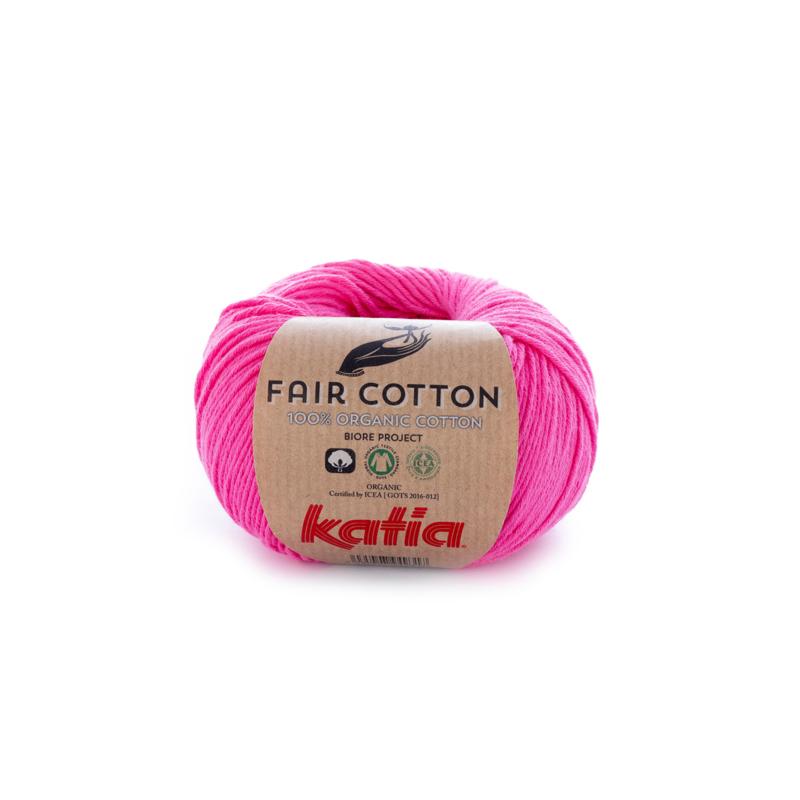 Katia Fair Cotton - 33 Roze