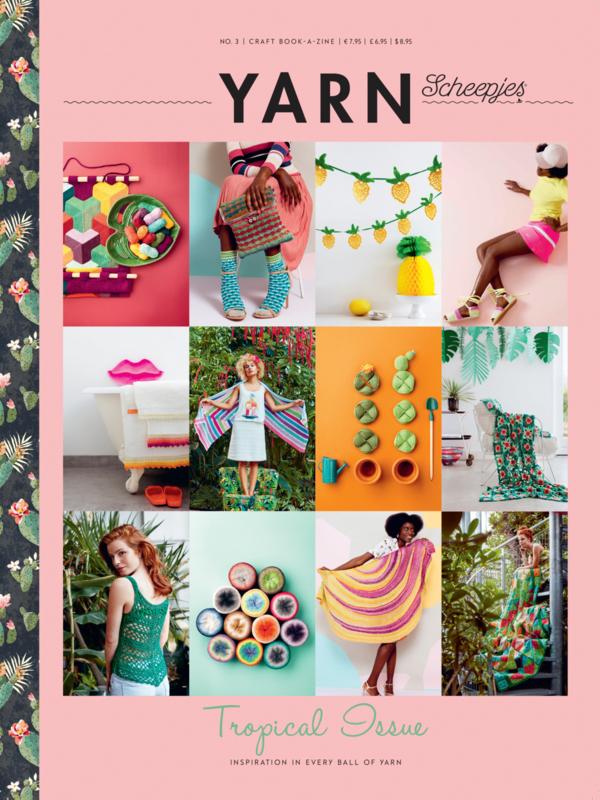 Scheepjes Bookazine YARN 3 - Tropical Issue