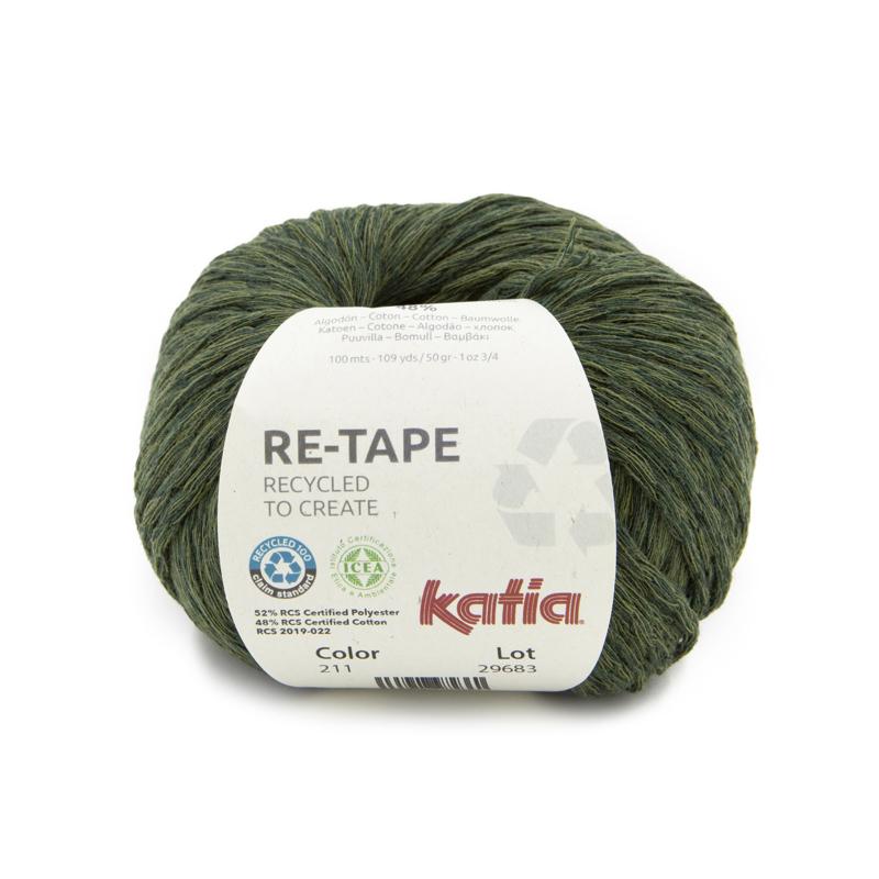 Katia - Re-Tape 211 Kaki