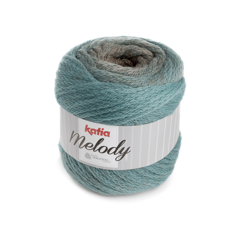 Katia Melody - 210 Camel-Mintgroen