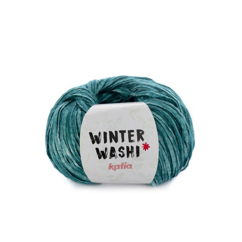 Katia Winter Washi - 215 Smaragdgroen