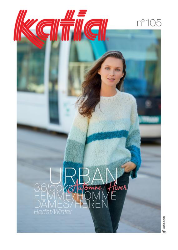 Katia Dames Urban No. 105 Herfst / Winter 2020-2021