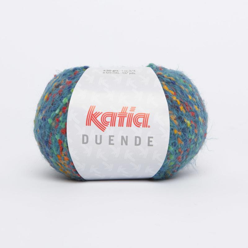 Katia Duende - 402 Veelkleurig-Groenblauw