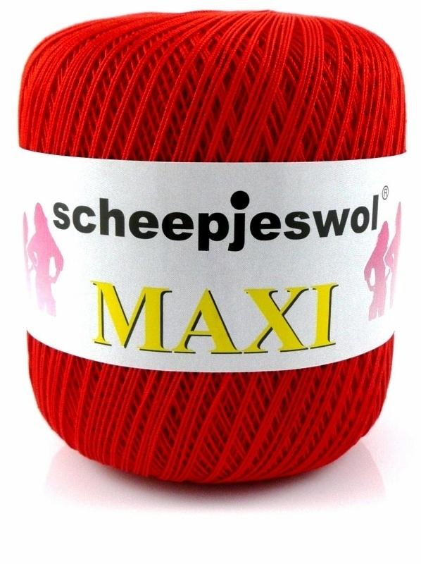 Scheepjes Maxi 115  - Rood
