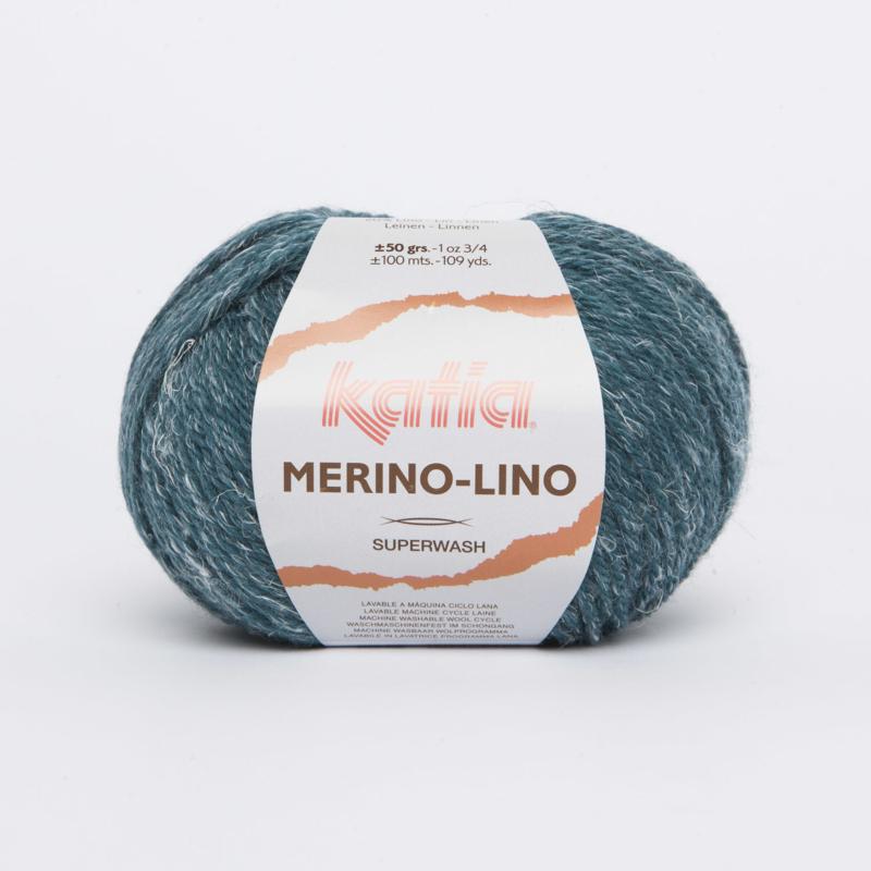 Katia Merino-Lino - 514 Groenblauw