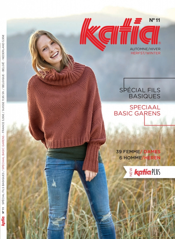 Katia Textures Basic No. 11 Herfst/Winter 2016-2017