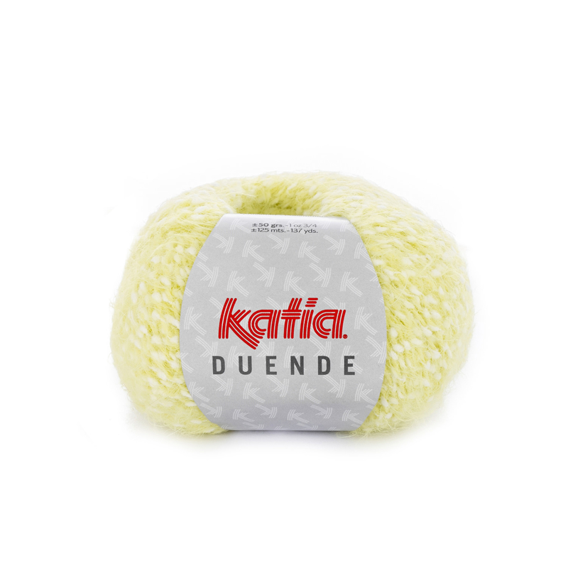 Katia Duende - 315 Ecru-Mosterdgeel