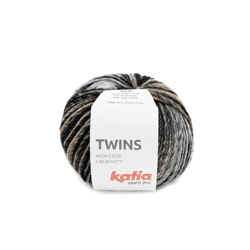 Katia Twins - 150 Beige - Bruin