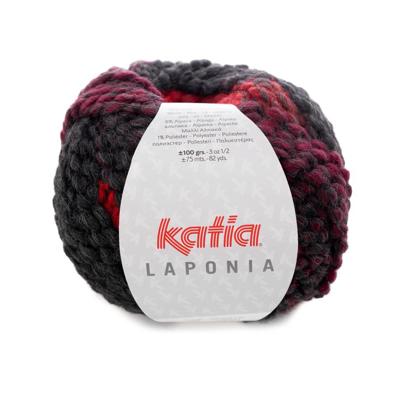 Katia Laponia - 205 Rood-Zwart