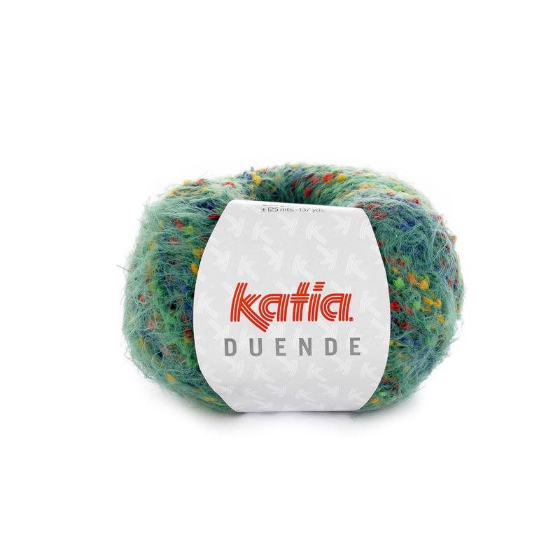 Katia Duende - 406 Veelkleurig-Flessengroen