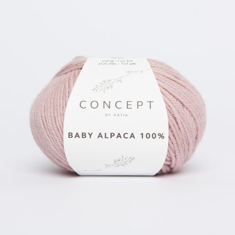 Katia Concept - Baby Alpaca 100% - 506 Lichtroze