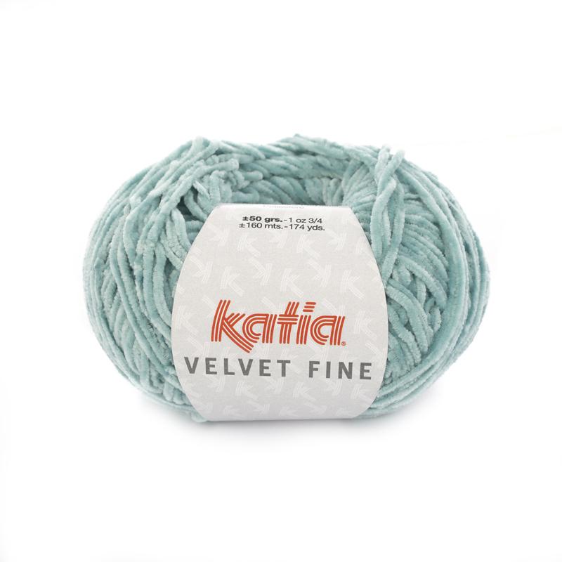 Katia Velvet Fine - 218 Witgroen