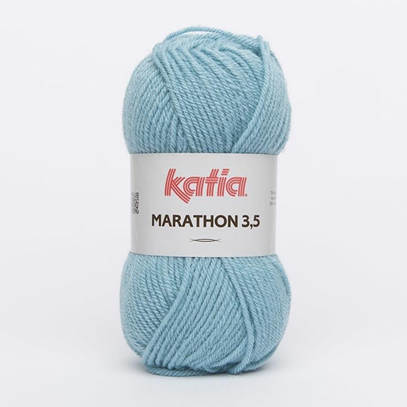 Katia Marathon 3.5 - 29 Waterblauw