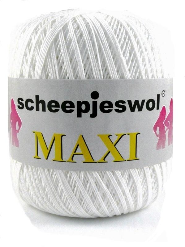 Scheepjes Maxi 105 - Bridal White