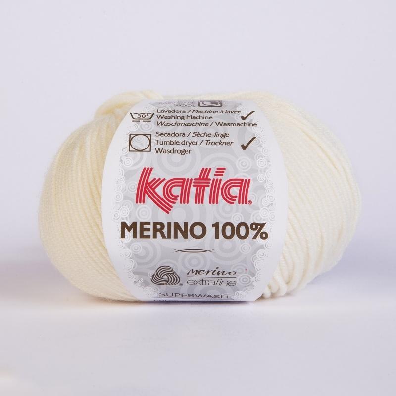 Katia Merino 003 - Ecru