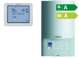 Vaillant ecoTEC Classic VHR 18-24 CW3 (A-label) + Chronotherm Touch TH8200G1004