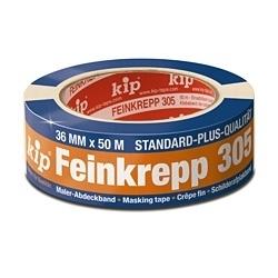 Kip 305-18 Masking Tape 18mm x 50m Standaard Plus