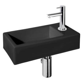 Differnz Demi fonteinset 37.5 x 18.5 x 9.5 cm Zwart